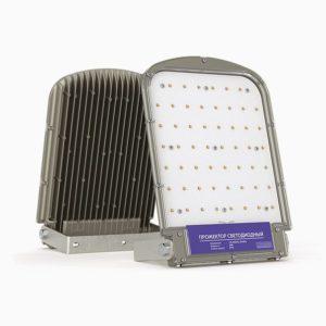 промышленный светодиодный прожектор skat (55-95 вт)